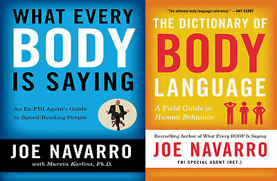 What Every Body Is Saying by Joe Navarro + The Dictionary of Body Language [PDF]
