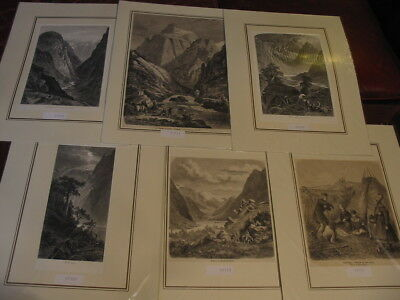 Sammlung Lot 49 Stück-Stiche-Prints-Norwegen-Norway-Norge-Noreg-No.4 #