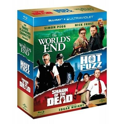 Worlds End / Shaun Of The Dead / Hot Fuzz The Three Flavours Cornetto Trilogy...