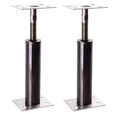2 Pack Floor Jack Lift Stand Adjustable Steel House Leveling Beam Heavy Duty New