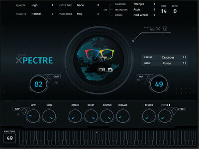 Xpectre VST - Chill Trap & Urban Synth VST Plugin ( PC & MAC ) - eDelivery