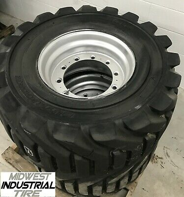 1 12-16.5 OTR Outrigger Foam Filled Used Take-Off 12 PLY TIRE JLG 400S,460S