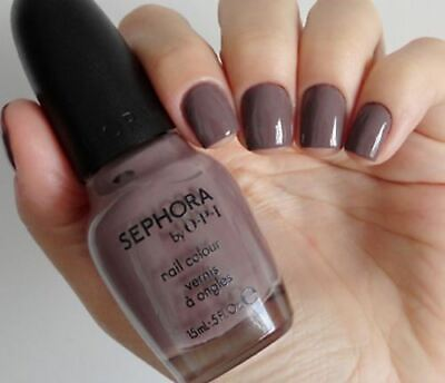 Sephora by OPI METRO CHIC Purple Grey Tan Taupe Creme Nail Polish Lacquer SE 270