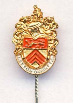 old LEYTON ORIENT F.C. stick pin BADGE stamped PINCHES LONDON