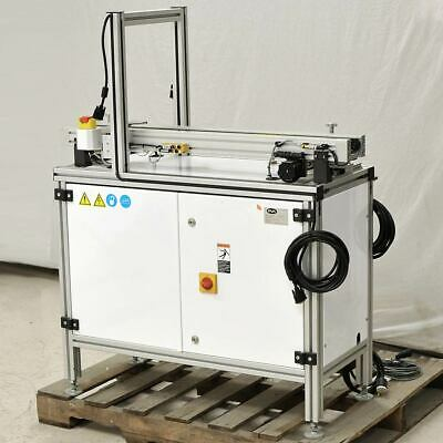 "Precision PVA 42"" Open-Center PCB/Pallet Chain Conveyor Adjustable AS-IS"
