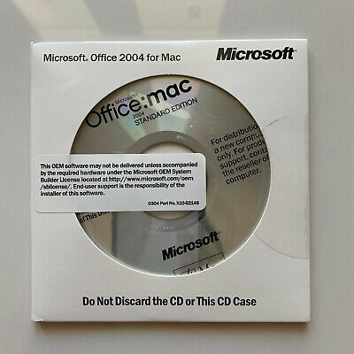OEM Office 2004 Student and Teacher Edition