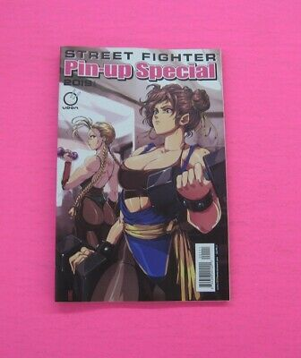 Street Fighter 2019 Pinup Special # 1 A Comic Udon!  2019