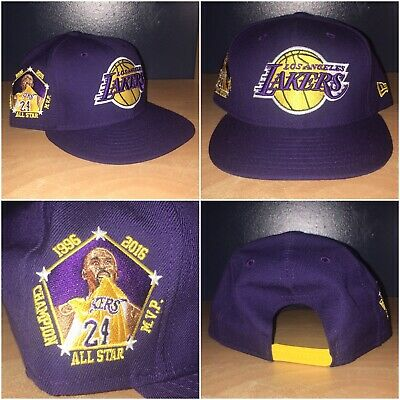 huge discount 13a01 9ef53 Los Angeles Lakers Kobe Bryant Final Season Patch New Era 9FIFTY Snapback
