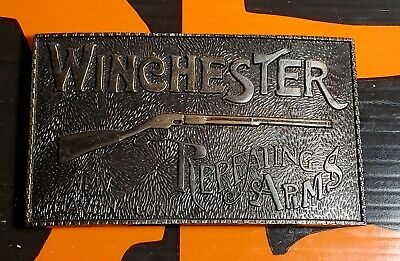 Winchester Repeating Arms  Belt Buckle - New Haven Conn.