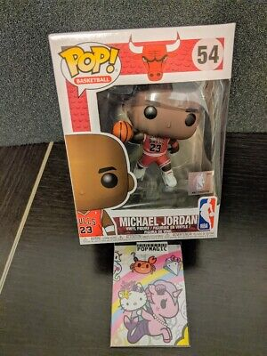 🏀In Hand Fast Ship🏀Funko Pop!🏀Michael Jordan Rookie #56🏀Free Protector🏀