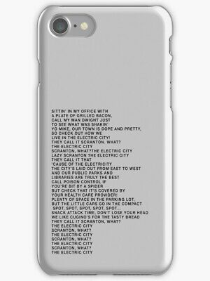 best authentic 2fc2e 9eda9 DWIGHT SCHRUTE FALSE The Office Show Case Cover For iPhone 7 8 Xs ...