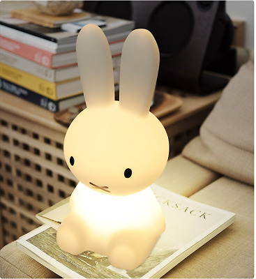 Miffy Rabbit Character LED Night Light Touch Dimmable Lamp for Toddler Baby Kids