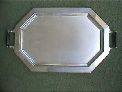 Universal Landers Frary Clark Chrome Deco Coffee Service Serving Tray Perculator