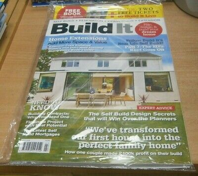 Build It magazine JUL 2019 Home Extensions; Cost Guide, Win Planning Consent &