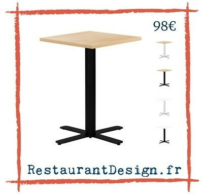 121 en carré bois PLATEAU 68x68 TABLE EUR DE SQUARE BRUT 6fbyY7g