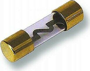 Hochleistungs-Glasssicherrung McPower 60A KFZ Glass Sicherung Car Hifi Fuse