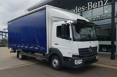 MERCEDES-BENZ Atego 816 Curtainside Body, White