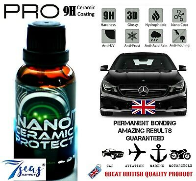 1X PRO 9H Hardness Nanotech Super Hydrophobic Permanent Ceramic Car Coating UK