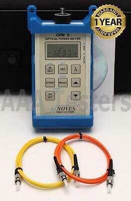 AFL Noyes OPM5-2 SM MM Fiber Optic Power Meter OPM 5 2
