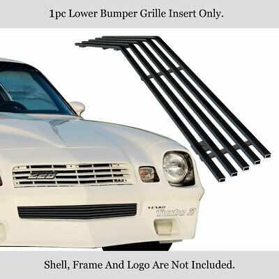 For 1978-1981 Chevy Camaro Stainless Steel Black Billet Grille