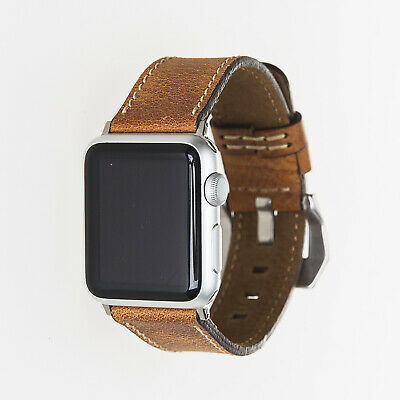 Apple Watch Band, Genuine Handmade Leather , iWatch 1 2 3 4 5, 38/42mm,Best Gift