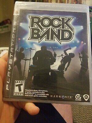 Rock Band (PS3, Sony PlayStation 3, 2007) (NEW)