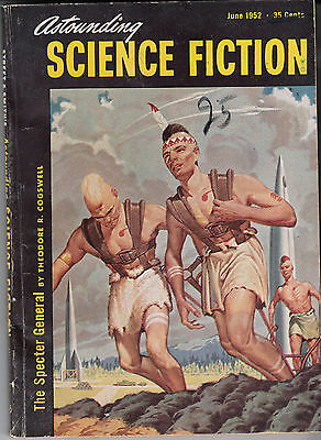 Astounding Science Fiction (June 1952) * T.Cogswell * W.M.Miller *J.J.Coupling *