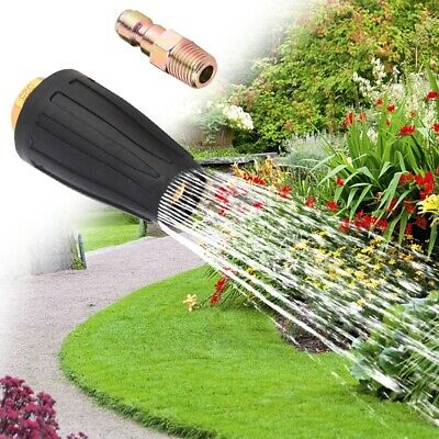 1Pc High Pressure Rotary Nozzle Anti-rust Adjustable Spray Head Washer Accessory