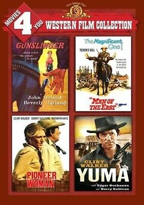 MOVIES 4 YOU WESTERN FILM COLLECTION New DVD Gunslinger Man of the East Yuma