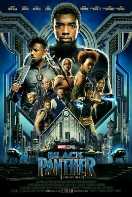 Black Panther MOVIE POSTER Double Sided ORIGINAL FINAL 27x40 DISNEY