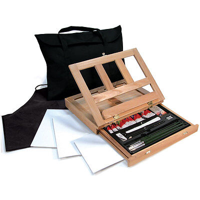 Óleo Artístico Color Caballete Art Set con Fácil Store Bolsa por Royal And