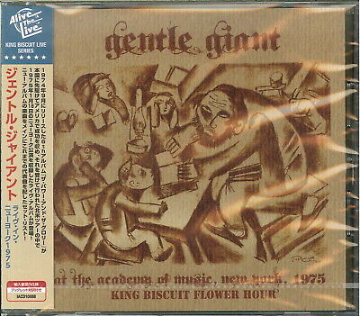 Gentle Giant-At The Academy Of Music. New York 1975 King...-Import Cd F08