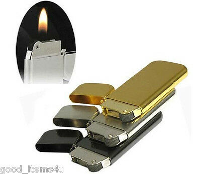 New Dolphin Slim Flint Normal Flame Butane Gas Fuel Refillable Cigarette Lighter