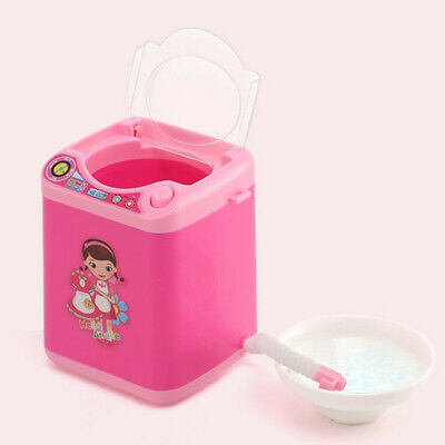 Lavadora Mini Juguete Brocha de maquillaje Cleaner Device Automatic Cleaning Toy