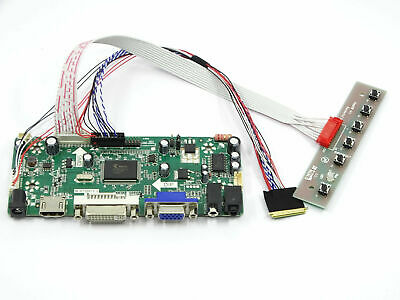kit for B156XW02 V.2 HDMI + DVI + VGA LCD LED Controller Driver Board