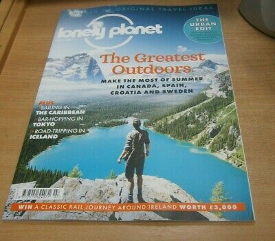 Lonely Planet magazine JUL 2019 Escape to Cantabria, Canadian ADventures, Sweden