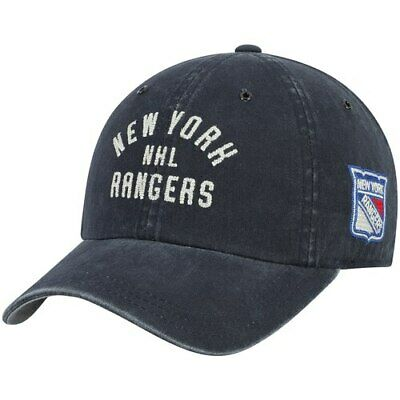 check out f3429 9da7d New York Rangers American Needle Parker Chainstitch Slouch Adjustable Hat -  Navy