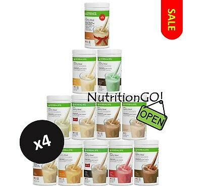 4X NEW HERBALIFE Formula 1 Healthy Meal Nutritional Shake Mix | (32$/each)