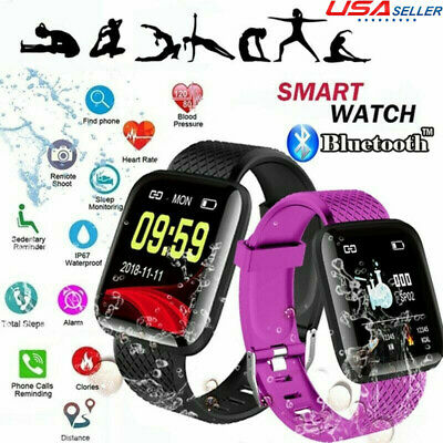 SMARTWATCH BRACELET HEART Rate Blood Pressure Monitor For