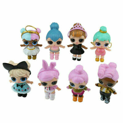 New 8 Pieces SET LOL Lil Outrageous 7 Layer Surprise Series Dolls Kids Toy Gifts