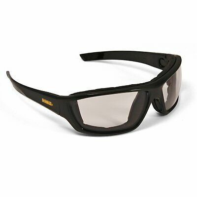 Dewalt Converter Safety Glasses Goggles In/Outdoor Anti Fog Lenses Foam Padded