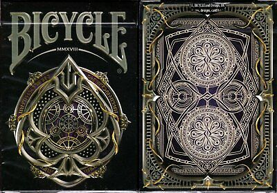 Black Magic Bicycle Playing Cards Poker Size Deck Custom Limited Edition Sealed