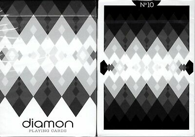 Diamon No 10 Playing Cards Poker Size Deck USPCC Custom Limited Edition Sealed