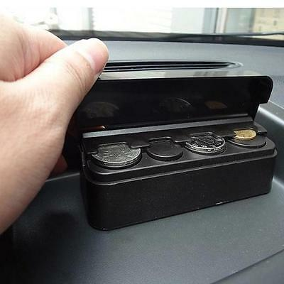 Car Coin Case Loose Change Storage Money Wallet Piggy Bank Holder Organizer D