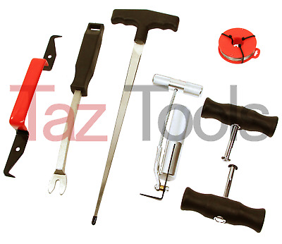 7x Professional Car Windshield Removal Tool Kit Automotive Wind Glass Remover