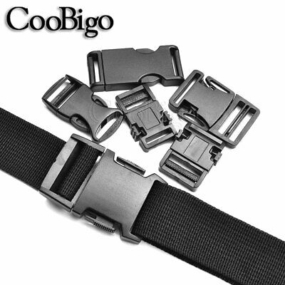 "1-1//2 ~ 2/""Side Release Buckle Password Lock Safety Detach Luggage Strap Buckle"