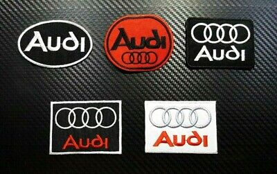 Audi Motor Super Sports Racing Logo Automobile Embroidered Patches Iron on Sew