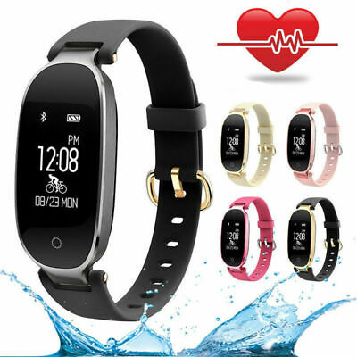 S3 Women Lady Smart Watch Calorie Fitness Tracker Waterproof Wrist Band Bracelet