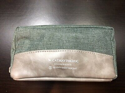 Unopened Business Class Cathay Pacific Seventy Eight Percent Amenity Bag Transportation Collectables