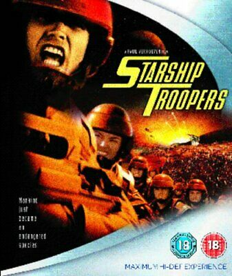 Starship Troopers - Sealed NEW Blu-ray - Dina Meyer